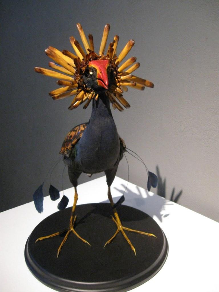 Enrique Gomez de Molina – taxidermy hybrids – sculptures