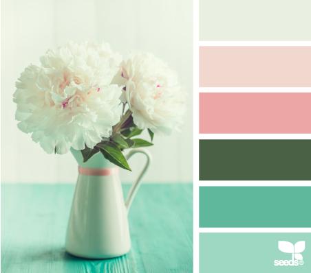 FloraPalette_6 – design-seeds – choix teintes, tons, couleurs