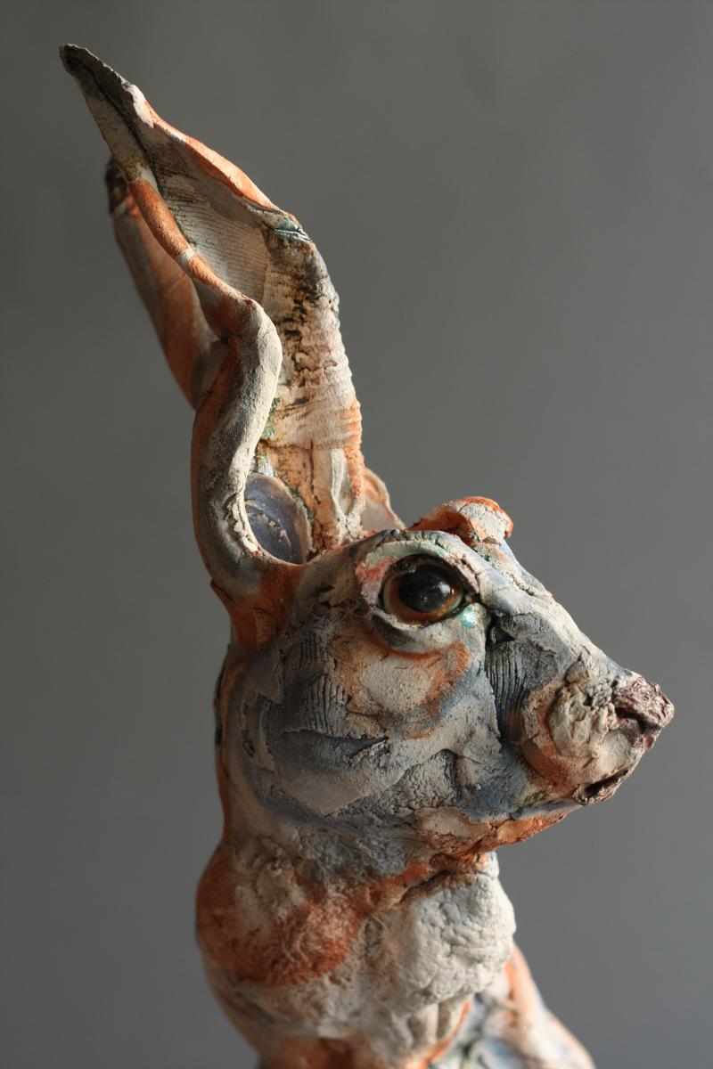 Gaynor Ostinelli – sculpteur ceramiste – lapin