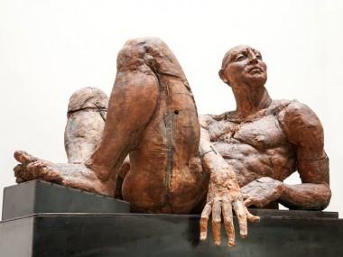 Javier Marín – sculpture Hombre Reclinado