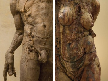 Javier Marín – sculptures coprus terra