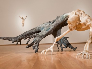 Javier Perez – Trans (formaciones) I by Javier Pérez, 2010 Bronze, polyester resin, parchment 72 x 165 x 135 cm