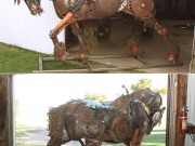 John Lopez Sculptures Steampunk - Draft Horse