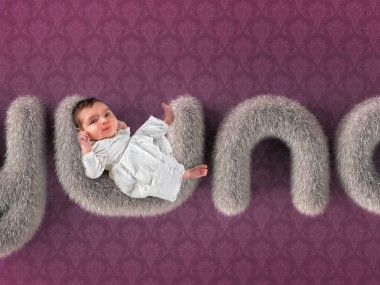 John Wilhelm – Yuna s birth announcement card Created with ZBrush, Keyshot and Photoshop
