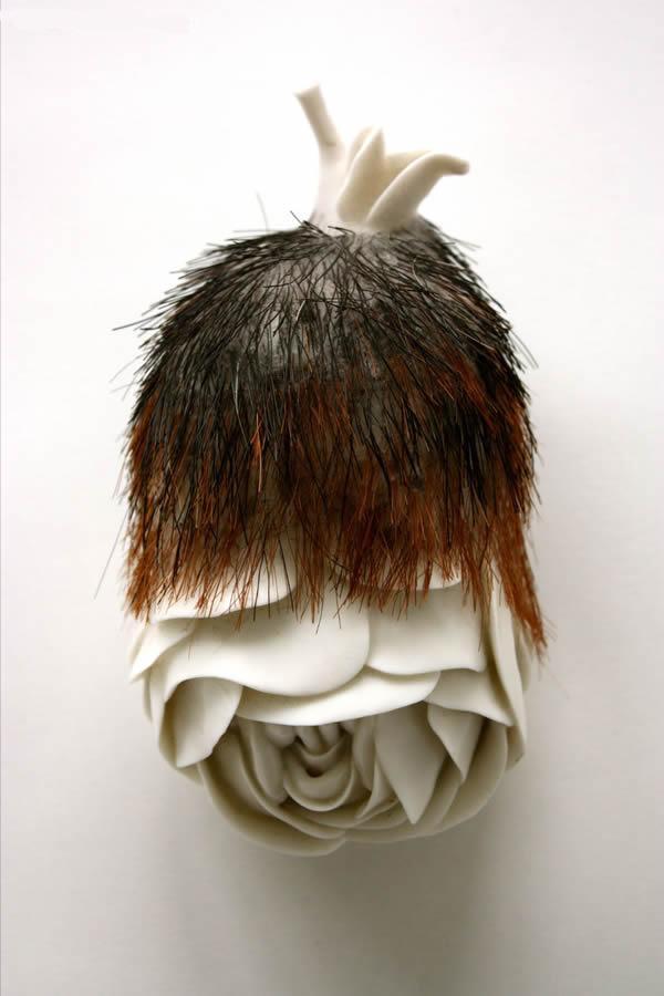 Juz Kitson – sculpture contemporaine / Organic sculptures fleurs
