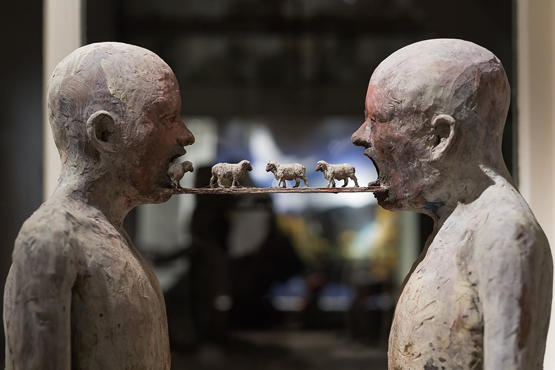 Marc Janssens  – Mix media Art Sculptures