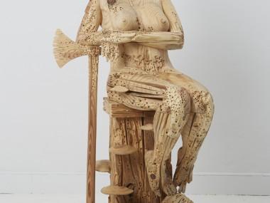 Morgan Herrin – Boudica sculpture / Wood sculptures