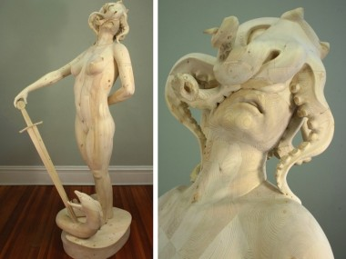 Morgan Herrin – Sculpture bois