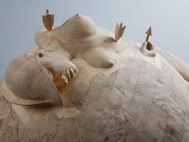 Morgan Herrin – Wood sculpture