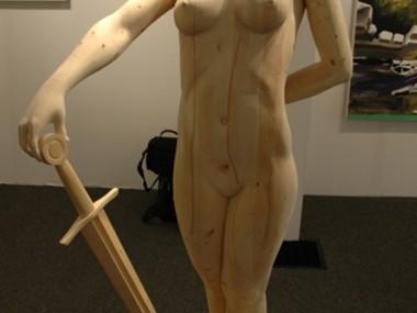 Morgan Herrin – Ada gallery / Wood sculptures
