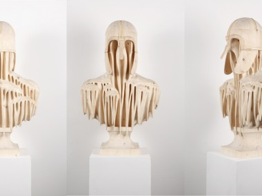 Morgan Herrin – coppergate_three-sides_l / Wood sculptures