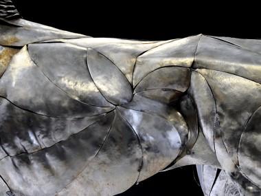 Selçuk Yılmaz – Lion – Steampunk sculpture