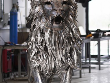 Selçuk Yılmaz – the Lion – Steampunk sculpture