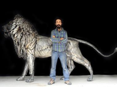 Selçuk Yılmaz – Portrait with Lion