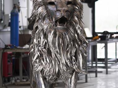 Selçuk Yılmaz – the Lion – Steampunk sculpture
