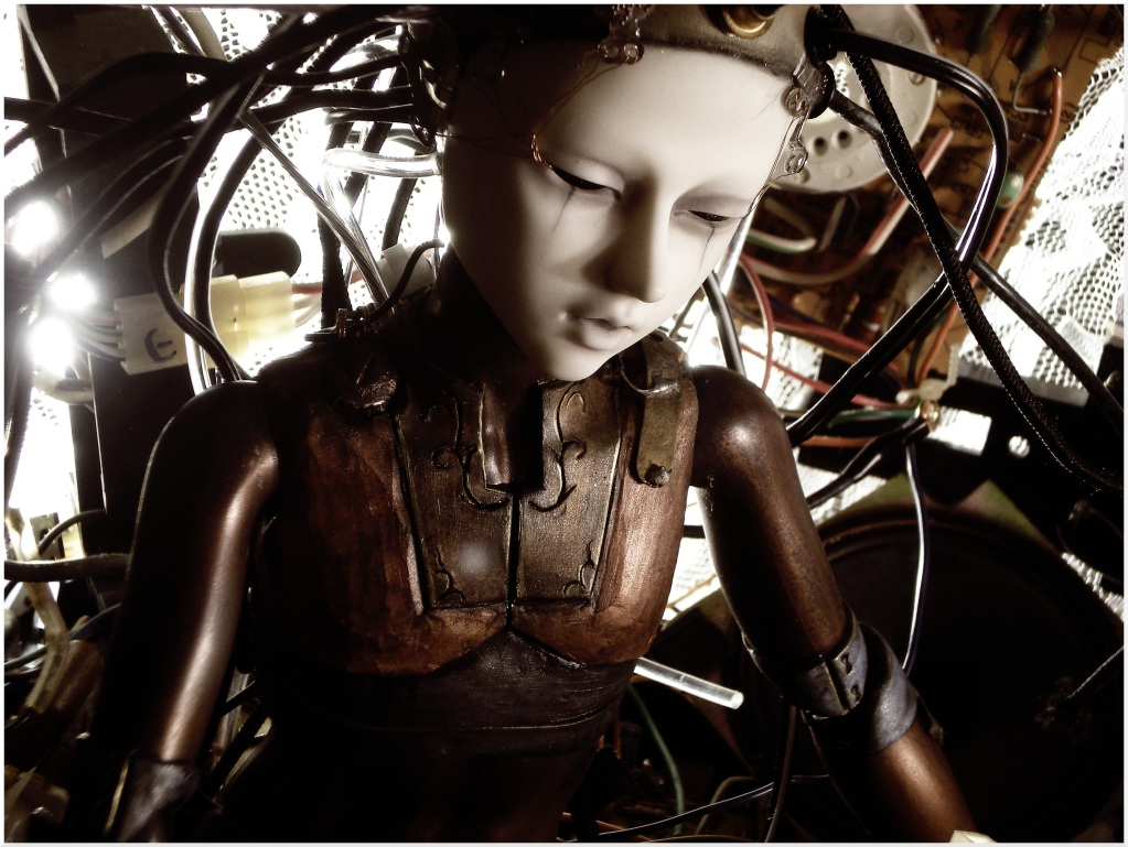Steampunk Art Dolls de Rackus Ruckus