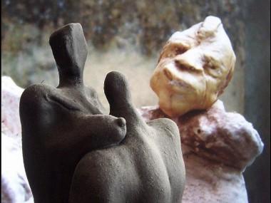 Thomas Christian – Sculpture – Couvrez ce sein que je ne saurais voir…