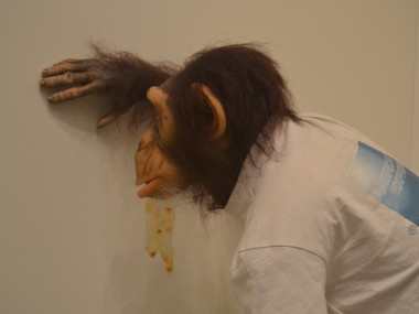 TonyMatelli – sculpture hypeRealiste – chimpanze