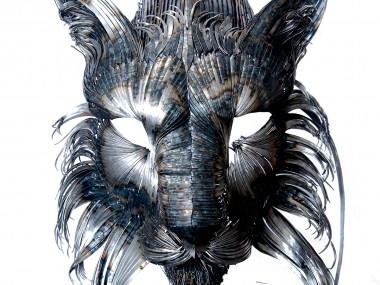 Selçuk Yılmaz – Steampunk sculptures lynx
