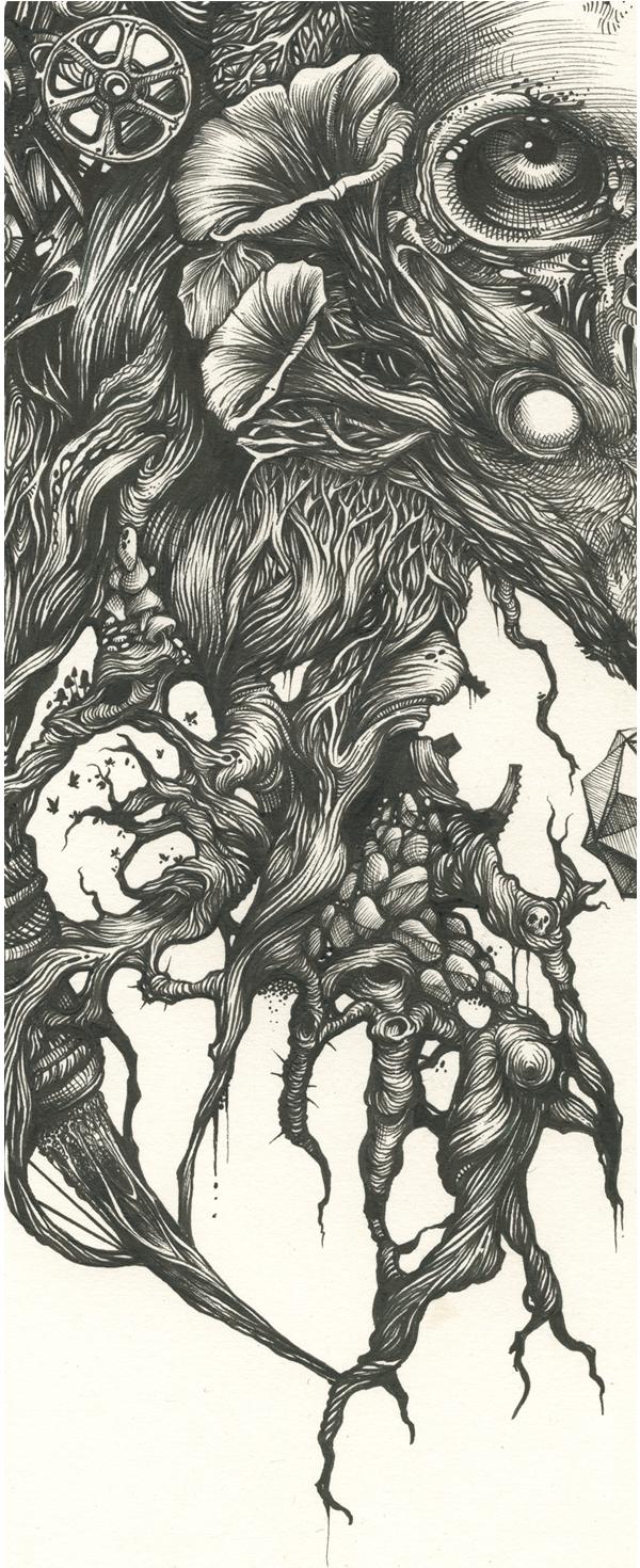 DZO – artist illustration – fine art