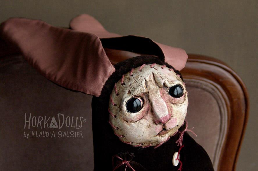 HORKA DOLLS – Art dolls sculptures – bunny
