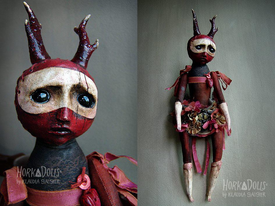 HORKA DOLLS – Art dolls sculptures creation Pologne