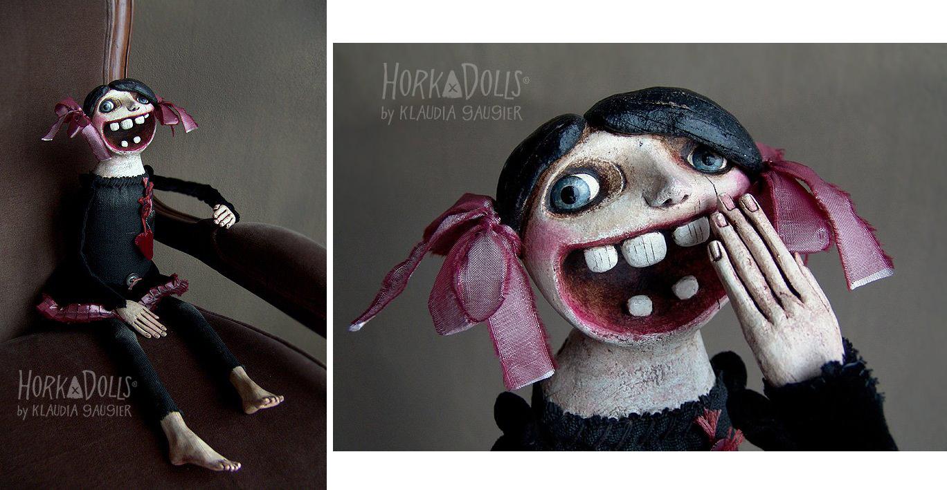 HORKA DOLLS – Art dolls sculptures pologne