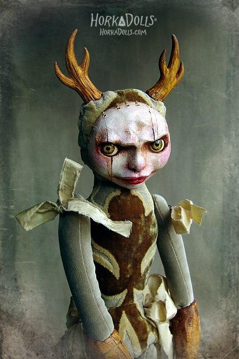 HORKA DOLLS – Art dolls sculptures