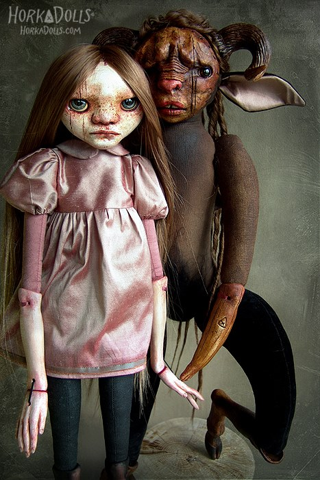 Klaudia Gaugier – Katya & TUM – HORKA Dolls