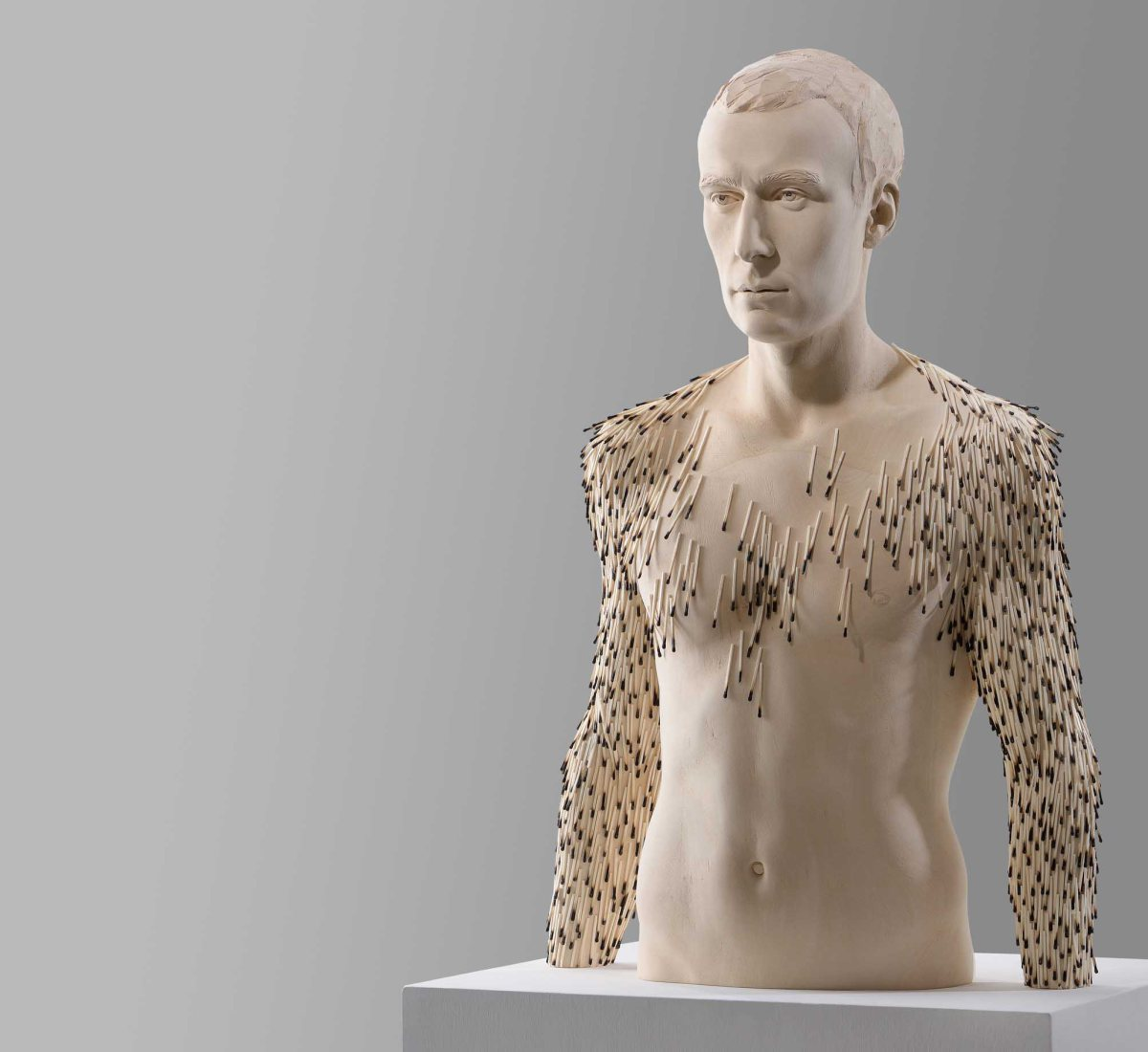 Matthias Verginer – burn out / wood sculptures