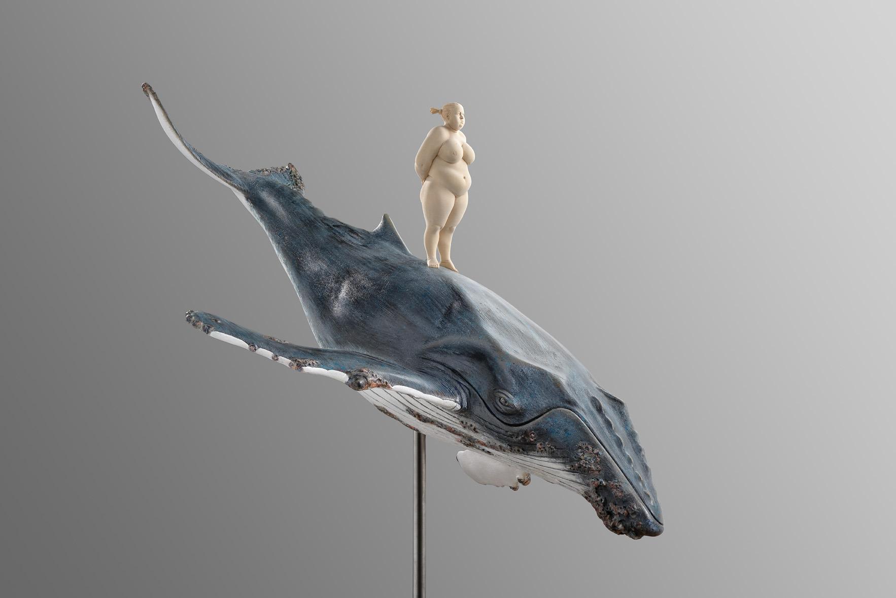 Matthias Verginer – the captain / wood sculptures