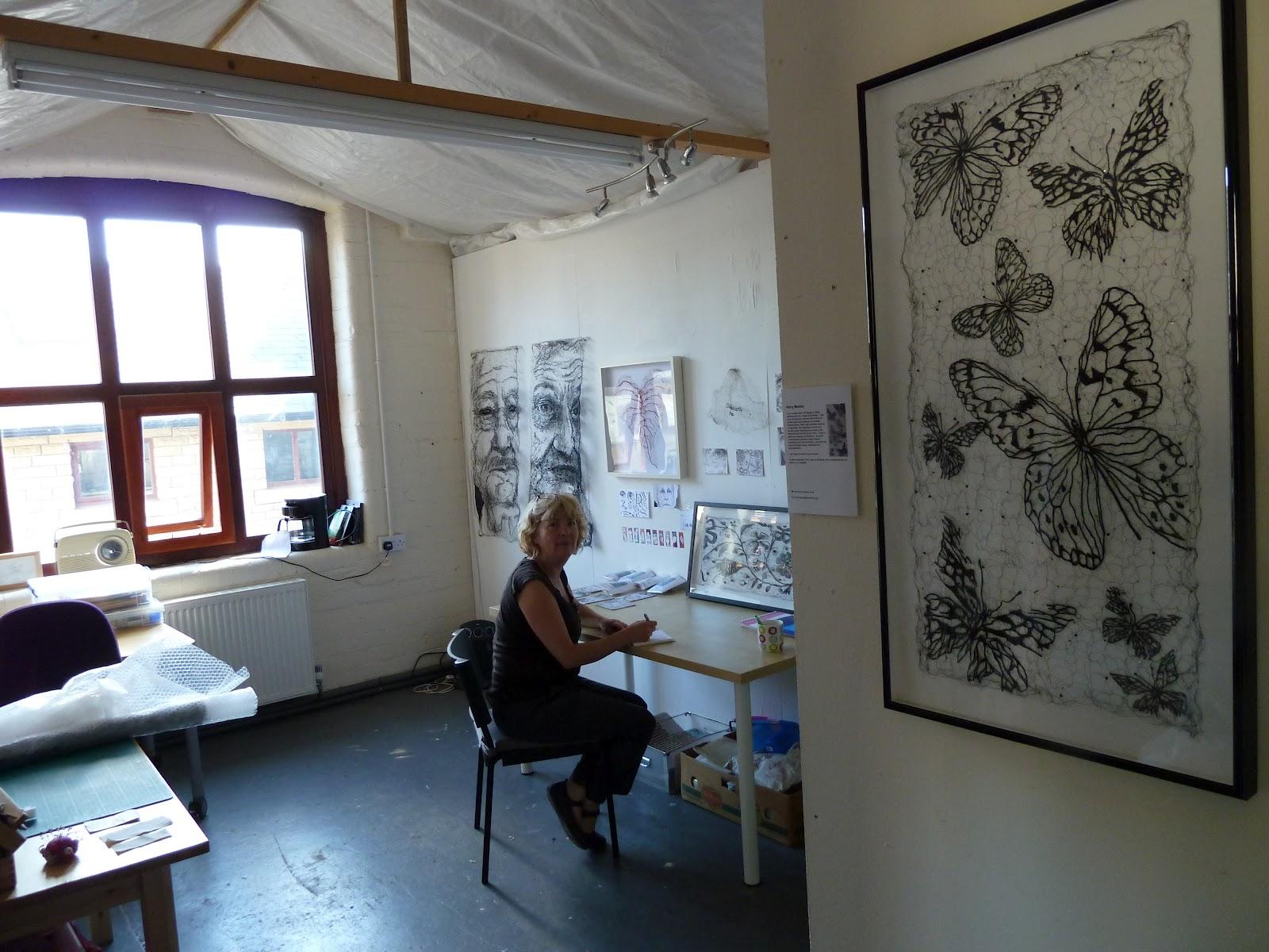 Mixed media Textile Artist – Kerry Mosley / Portrait