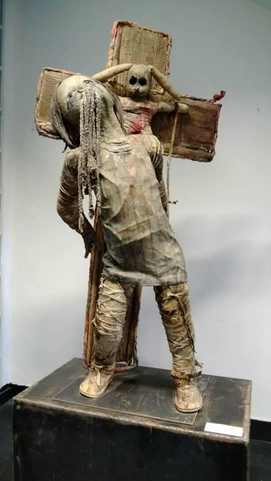 Paul Toupet Crucifixion / sculpures