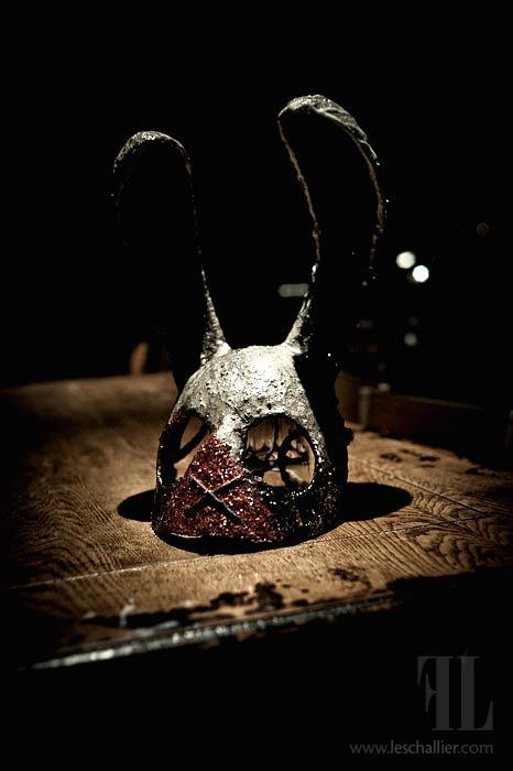 Paul Toupet – Mask – Serial Rabbits / sculptures
