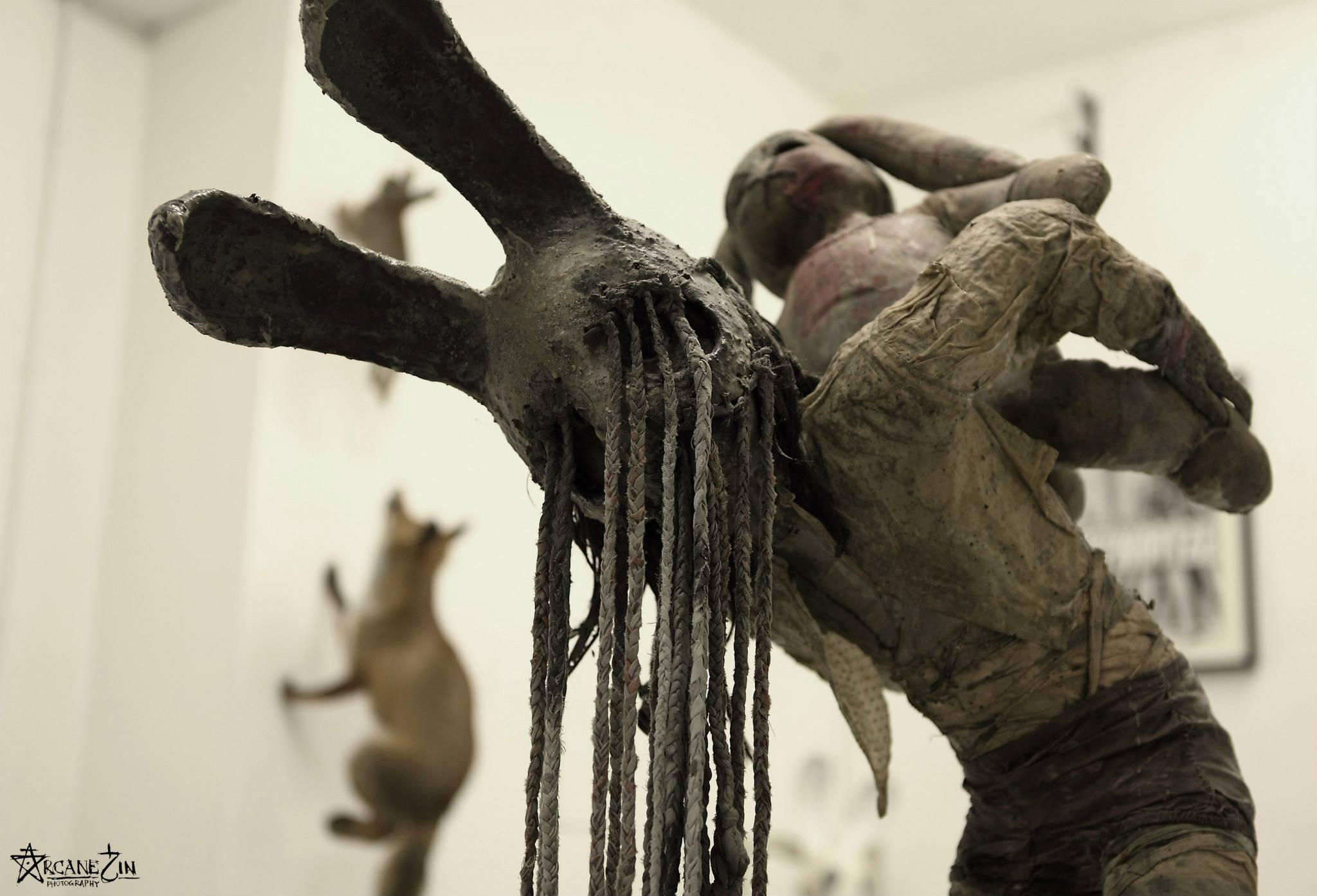 Paul Toupet – Sculpture (detail)Copyright © Arcane Sin 2013
