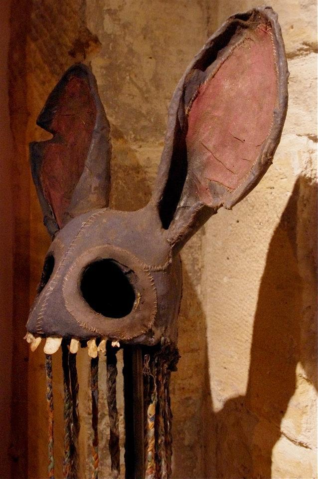 Paul Toupet – Sculpture lapin mask