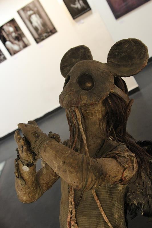 Paul Toupet – sculpture – Mickey