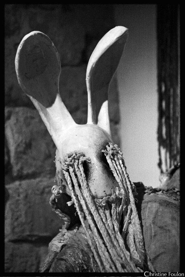 Paul Toupet – sculptures / bunny creature