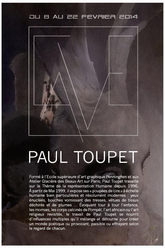 Paul Toupet – sculpture / expo