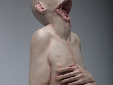 Richard Stipl – Heretic III, clay and shellac, – 2011 – sculptures