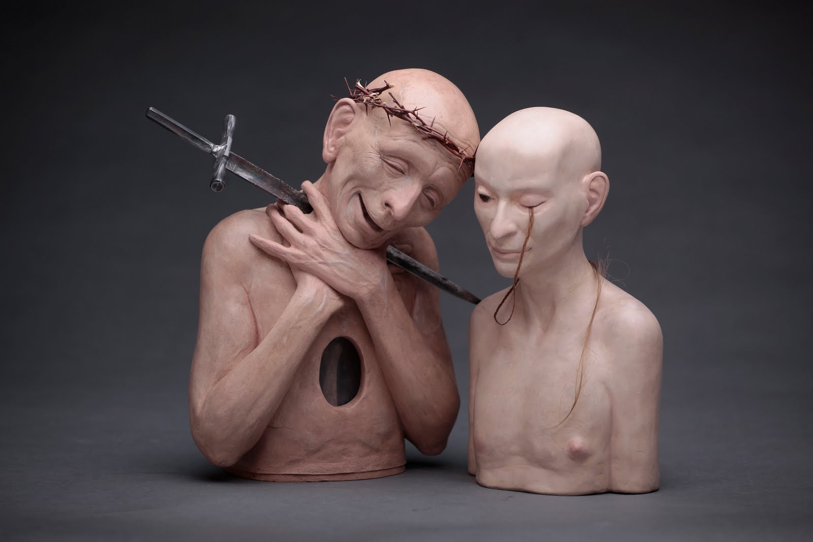 Richard Stipl – sculptures  – heretic