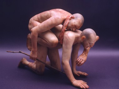 Richard Stipl's sculpture – Block Sabbath II – 2005