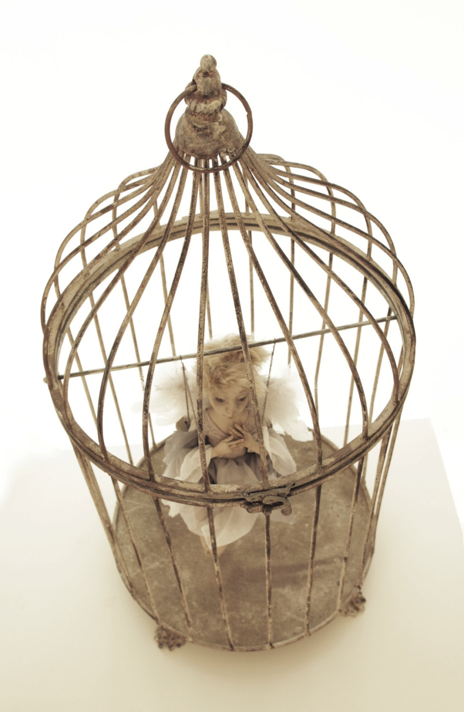 Rita Ona Danieliene – guardan angel – art dolls sculpture