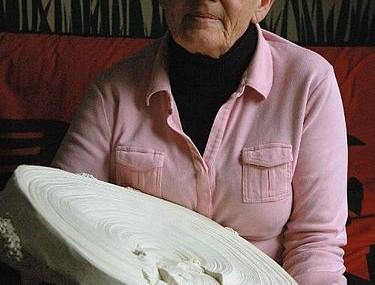 Simone Pheulpin, Textile art, portrait