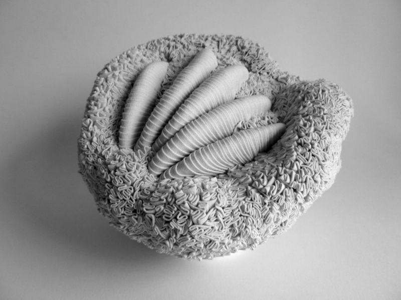 Textile sculptures de Simone Pheulpin - closion