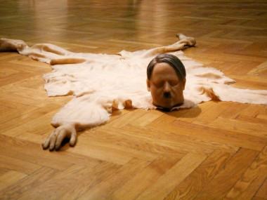 Richard Stipl – Artwork adolf hitler modern art bear skin – sculptures