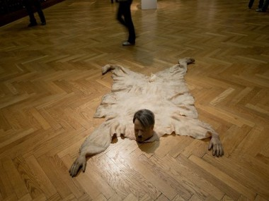 richard stipl – Envisions Hitler as a Bear Skin Rug