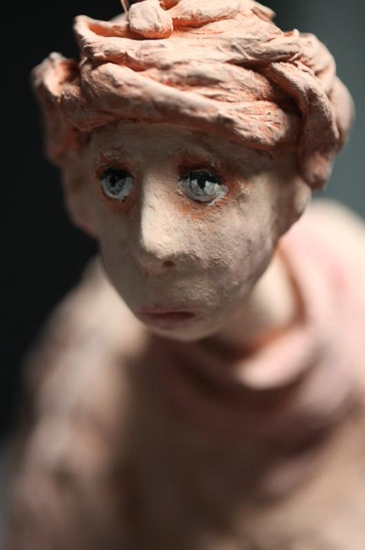 Sandrine Brillaud – La famille des Roses – sculptures figuratives