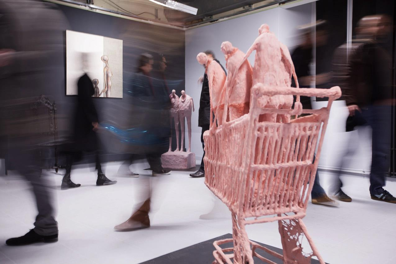 sandrine brillaud – expo  Nantes – sculptures figuratives