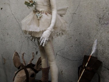 Valeria Dalmon – Joven arquera – Textiles sculptures